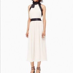 $478! NWT Kate Spade Chiffon Bow Dress 10